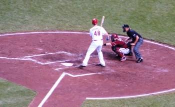 Ryan Ludwick laying off a ball outside.