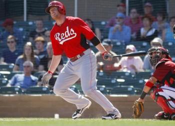 Cozart's first-inning home run