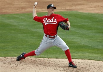 Leake winds up against the Angels