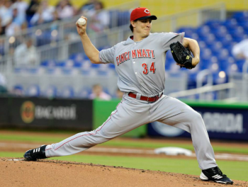 Homer Bailey recorded his first complete game yesterday.