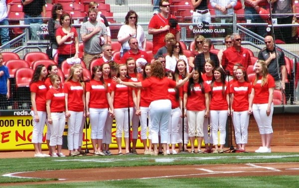 Singers of the National Anthem