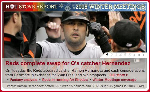 Ryan fucking Freel and traded and his name isn\'t even in the motherfucking headline??
