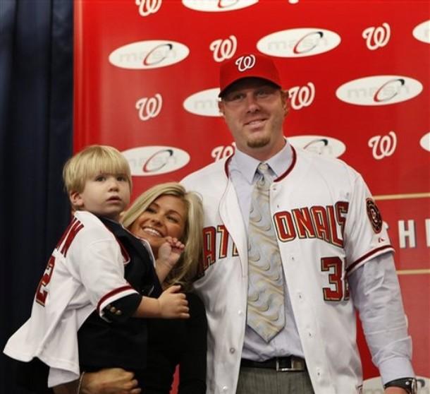 Nationals Baseball Dunn