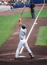 Craig Counsell and his irritating batting stance