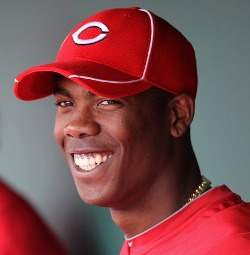 The smile of the next Reds' savior.
