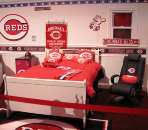 The Reds Dream Room seems to be missing a certain MVP.